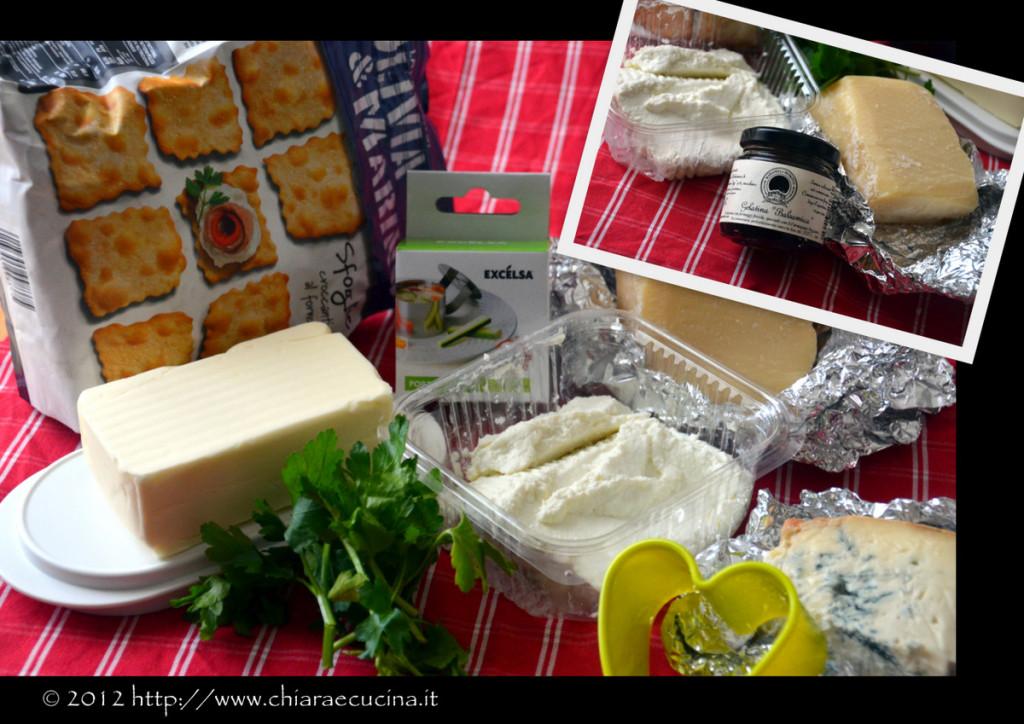 mini cheesecake salati con gorgonzola e gelatina al balsamico