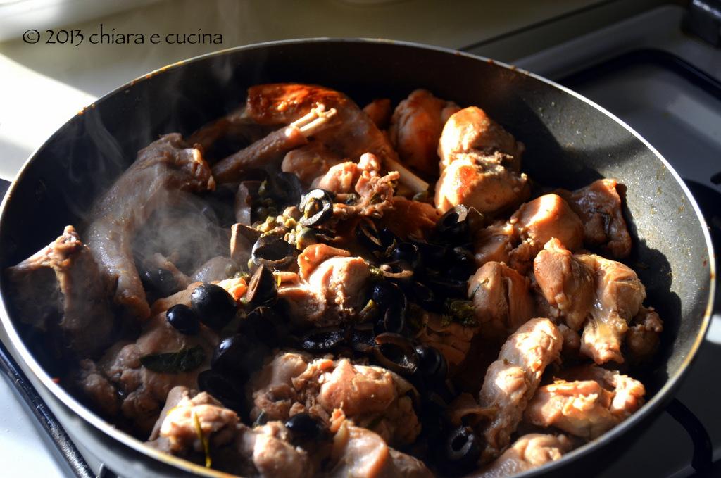 in cucina con i suoceri: coniglio nun te temo (ovvero coniglio alla cacciatora alla umbra)